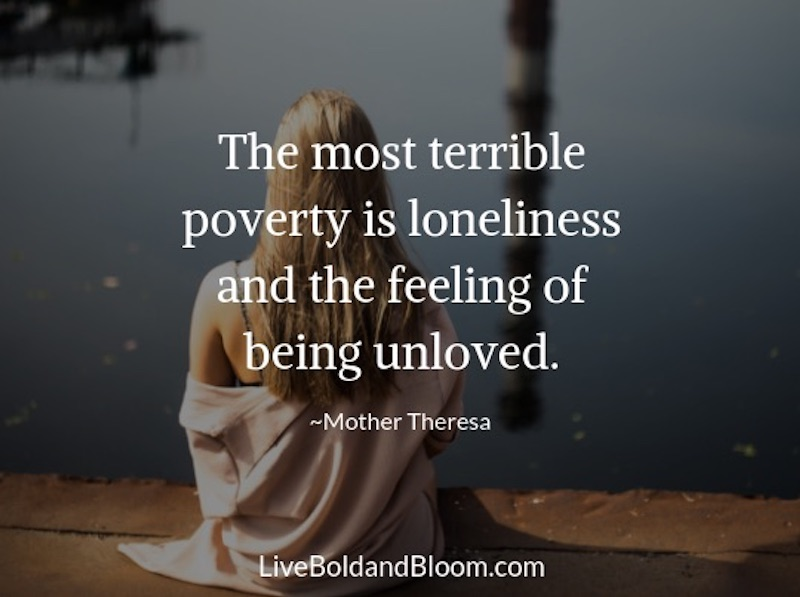 Loneliness Is Not About Being Alone. It's The Feeling That No One Cares.