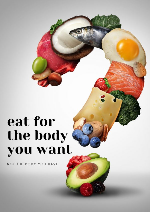 Eat For The Body You Want, Not The Body You Have.