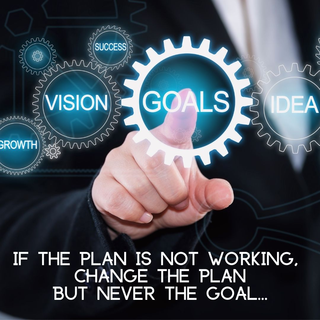 Change The Plan Not The Goal