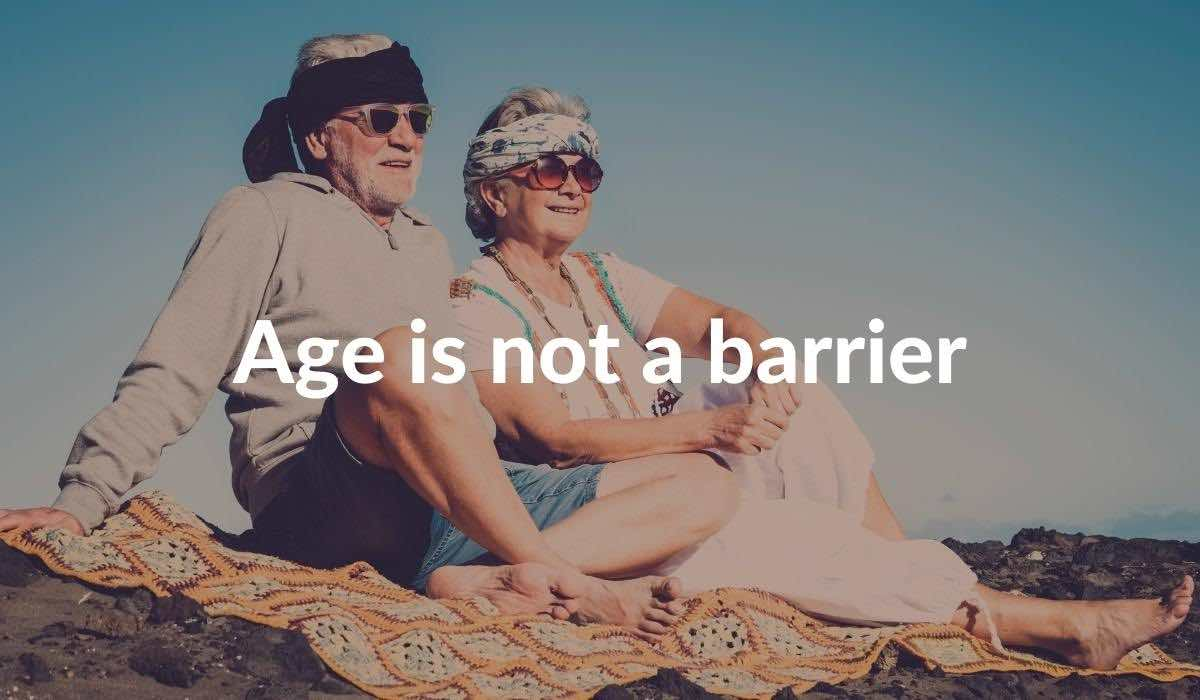 Age Is Not A Barrier